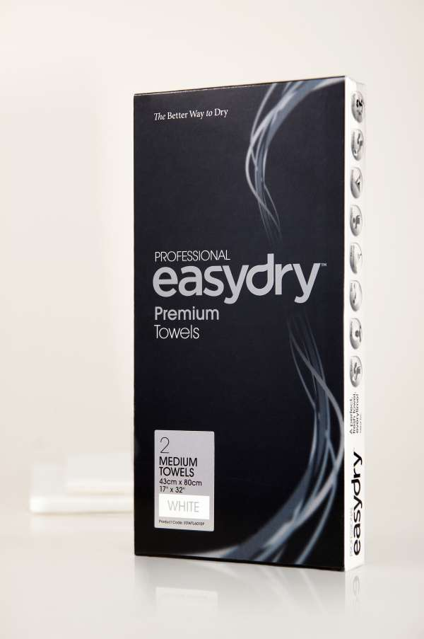 Easy Dry white twin pack