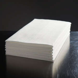 Easydry Large White Disposable Towel for baths, showers, gyms, beauty and more